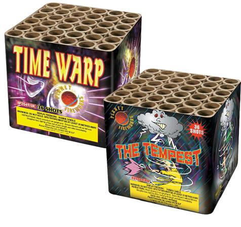 Planet Fireworks Time Warp & Tempest