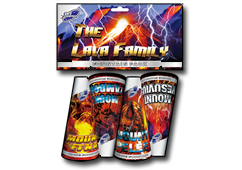 The Lava Family (4 Pack) by Skycrafter