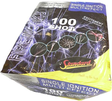 Standard Fireworks 100 - Shot SIB