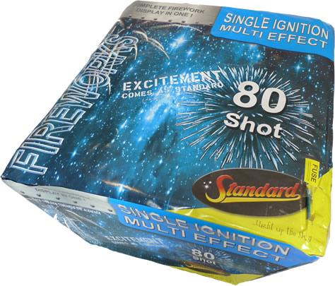 Standard Fireworks 80 Shot SIB