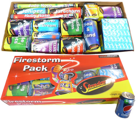 Standard Fireworks Firestorm Selection