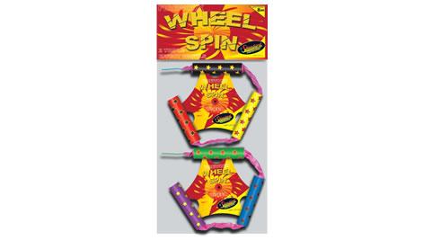 Standard Fireworks Wheel Spin