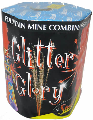 Black Cat Glory Mine - Glitter Glory