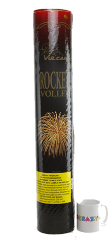 Vulcan Rocket Volley - Crackling