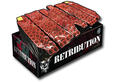 Retribution Compound Display by Zeus Fireworks