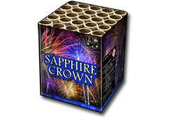 Sapphire Crown by Zeus Fireworks