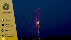 comet sky zeus fireworks