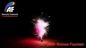 kronos fountain by absolute fireworks