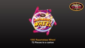 razzmatazz wheel fireworks