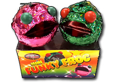 Mini Funky Frog Fountains by BrightStar