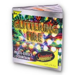 Glittering Fire Fountain by Standard Fireworks