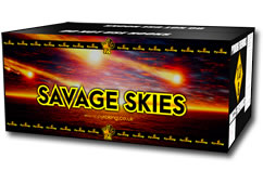 Savage Skies by Pyro King