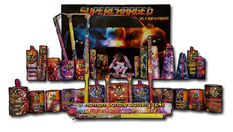 Pyro King Supercharged Contents