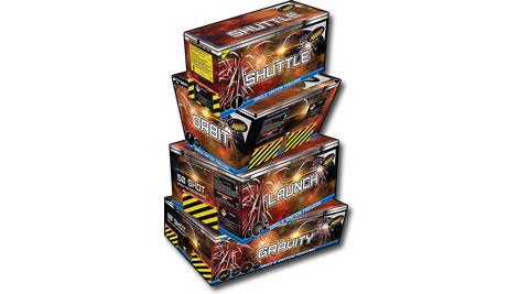Standard Firewprks Battle Star Quad Barrage Pack