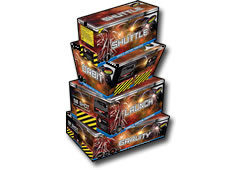 Standard Firewprks Battle Star Quad Barrage Pack Sml