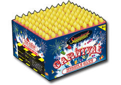 Standard Fireworks Carnival Missle Cake Small