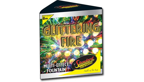 Standard Fireworks Glittering Fire