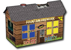 Standard Fireworks House Party Fountain Small