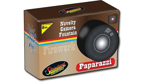 Standard Fireworks Paparazzi Fountain