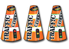 Standard FIreworks Traffic Cones Small