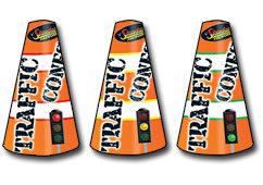 Standard FIreworks Traffic Cones Small