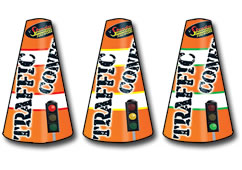 Traffic Cones by Standard Fireworks