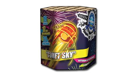 Zeus Fireworks Comet Sky