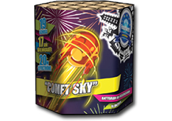 Comet Sky by Zeus Fireworks