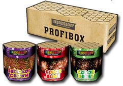 Profi Box (3 Barrage Assortment) by Zeus Fireworks