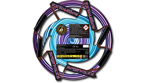 Zeus Fireworks Revolution Wheel