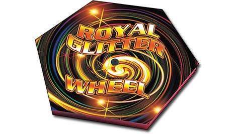 Zeus Fireworks Royal Glitter Wheel
