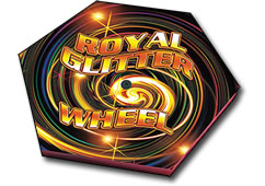 Royal Glitter Wheel by Zeus Fireworks