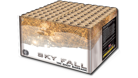 Zeus Fireworks Sky Fall