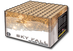 Sky Fall by Zeus Fireworks
