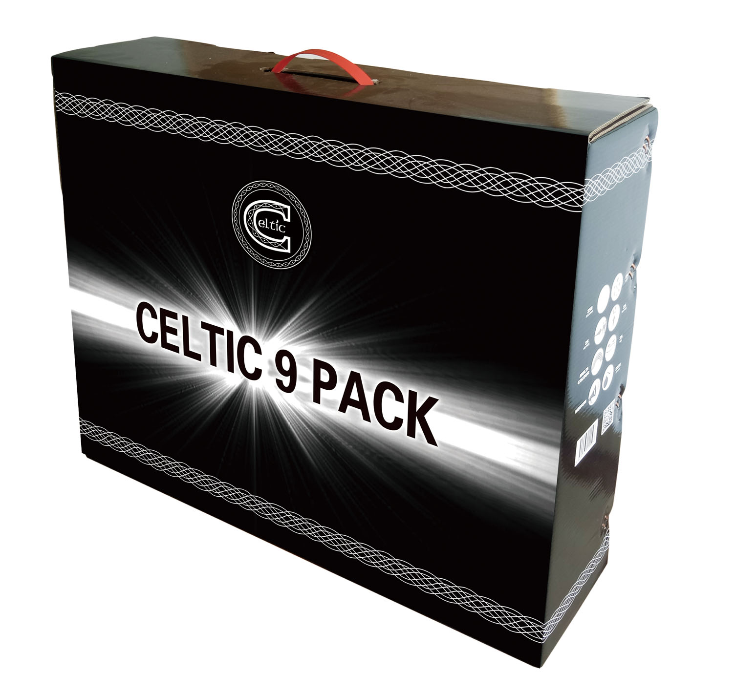 Celtic 9-Pack By Celtic Fireworks