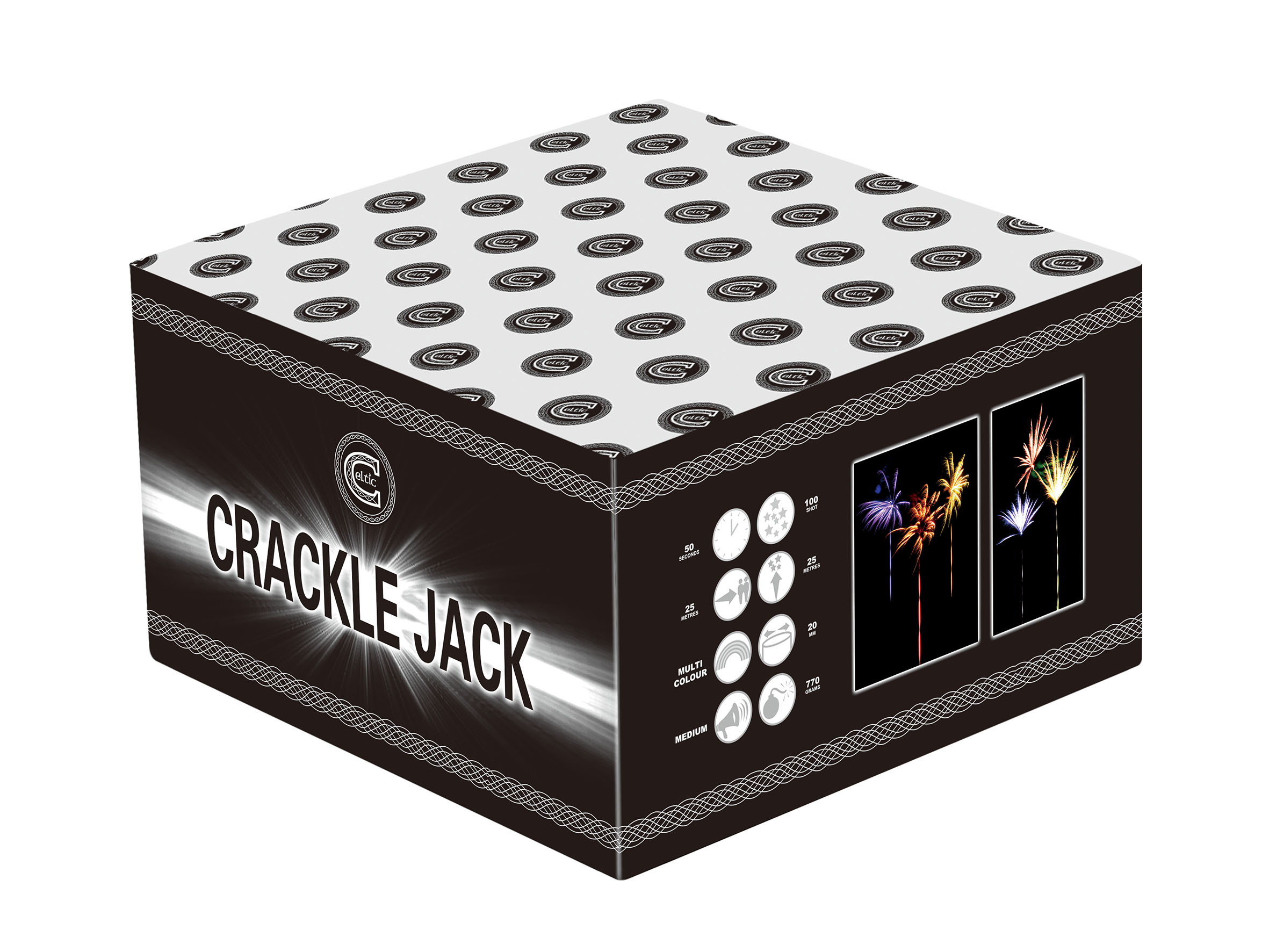 Crackle Jack By Celtic Fireworks
