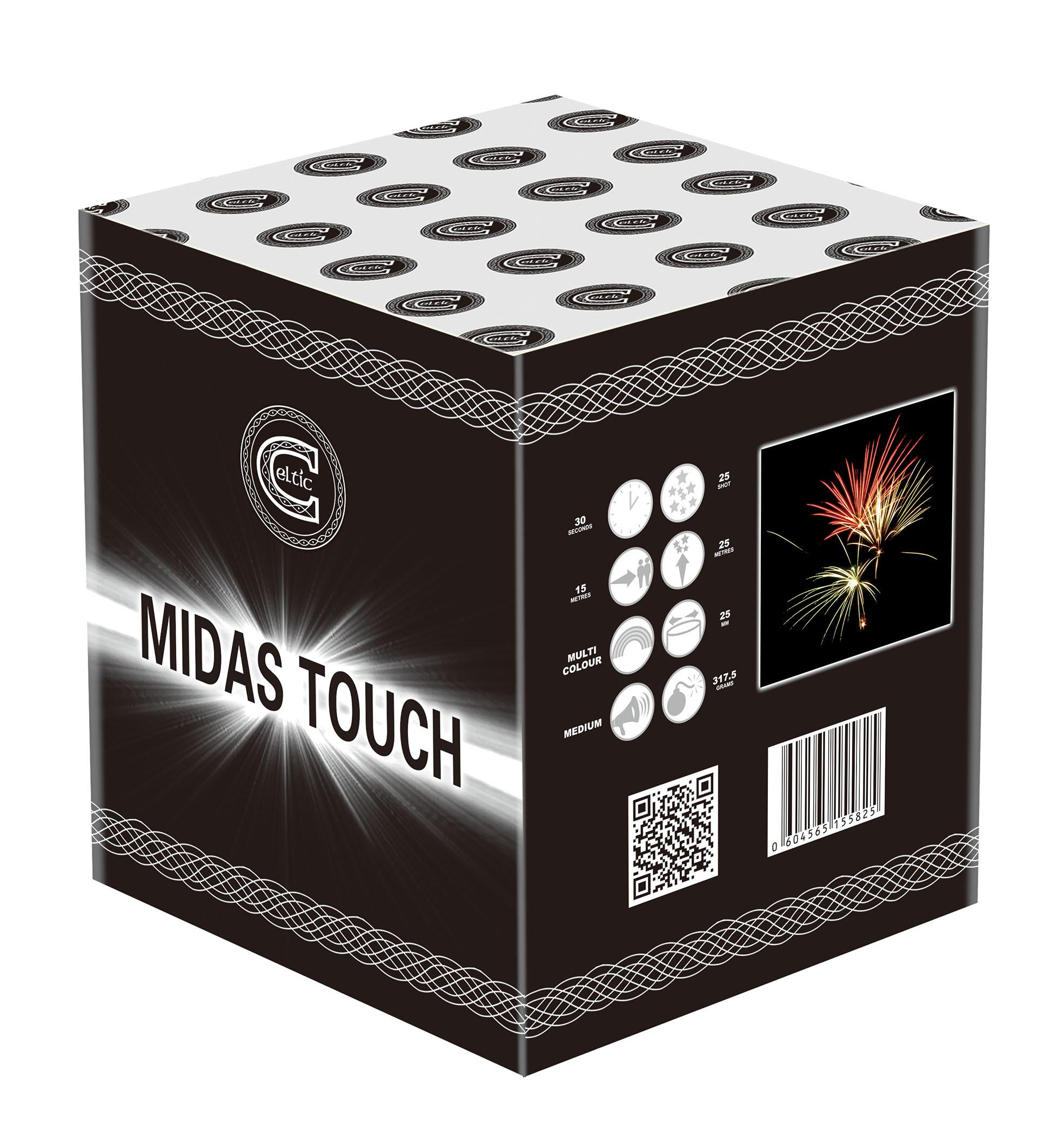 midas touch fireworks