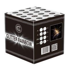 glitter rainbow firework