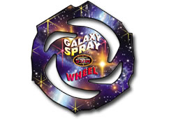 Galaxy Spray Wheel by BrightStar