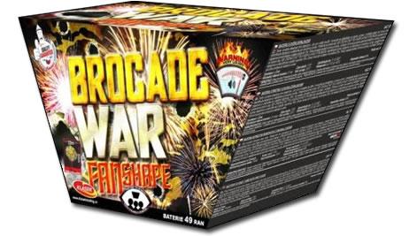Klasek Brocade War Fan