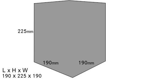 Klasek C253SIG Dimensions
