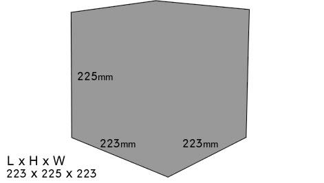 Klasek C363SIG Dimensions