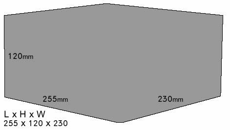 Klasek C9020SIG Dimensions