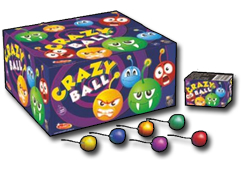 Crazy Ball (pack of 6) by Klasek