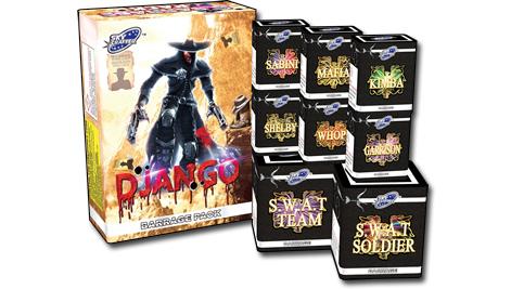 Skycrafter Django Barrage Pack