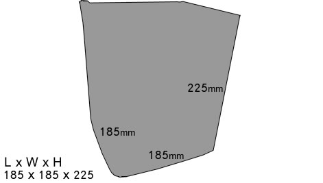 Vivid Pyrotechnics 25I Dimensions