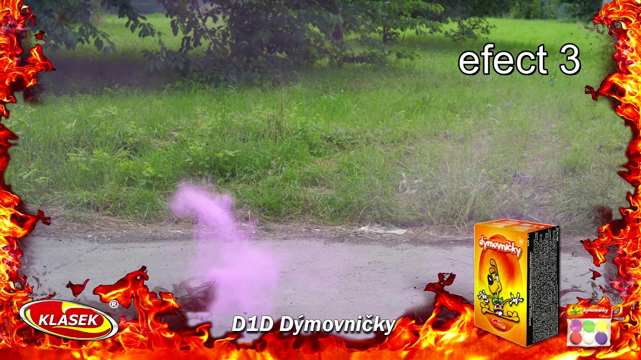 dymovnicky coloured smoke bombs