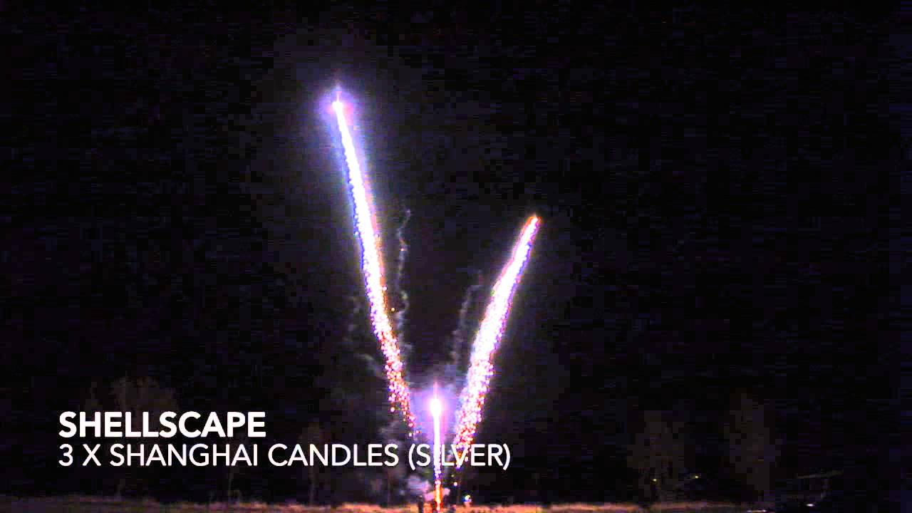 hong kong candle silver comet by celtic fireworks
