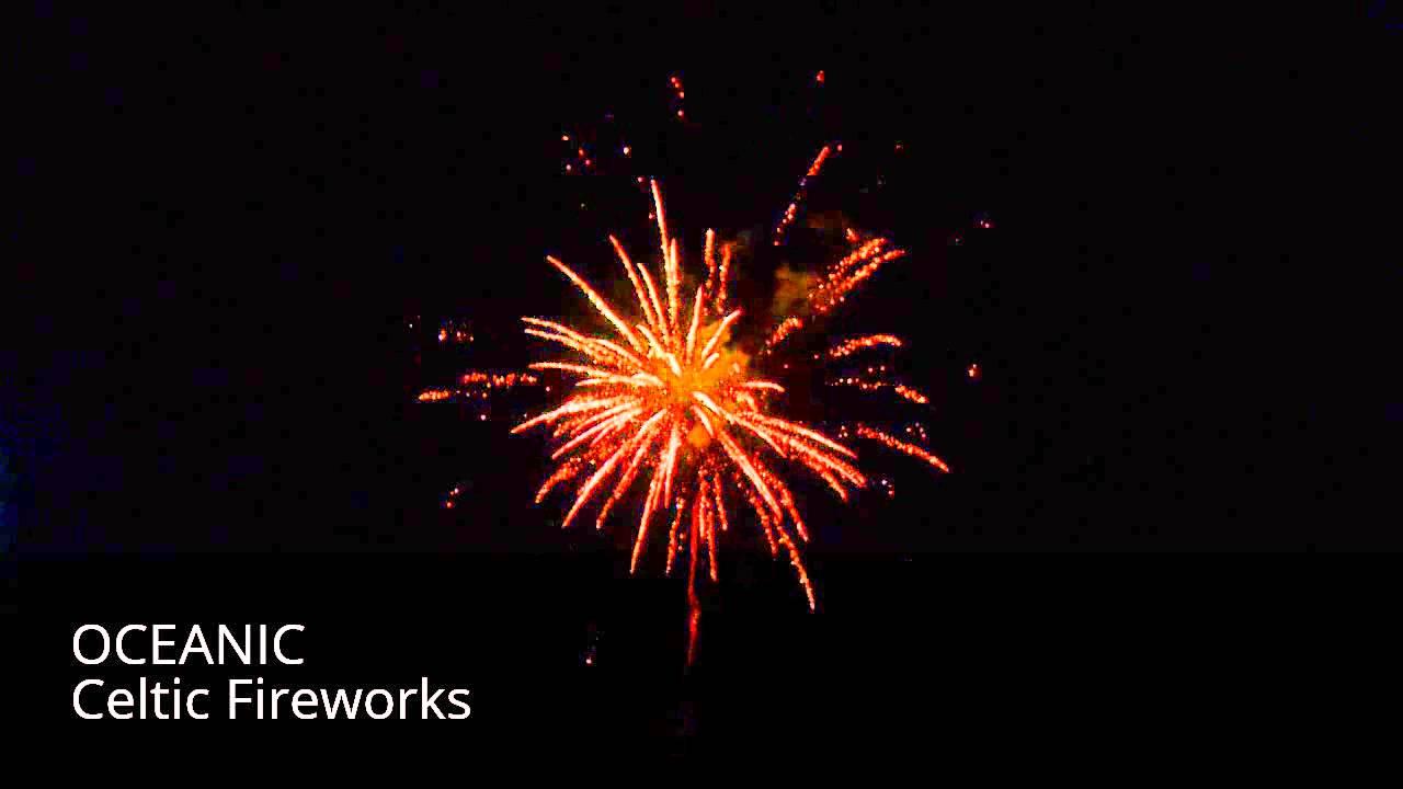 oceanic by celtic fireworks