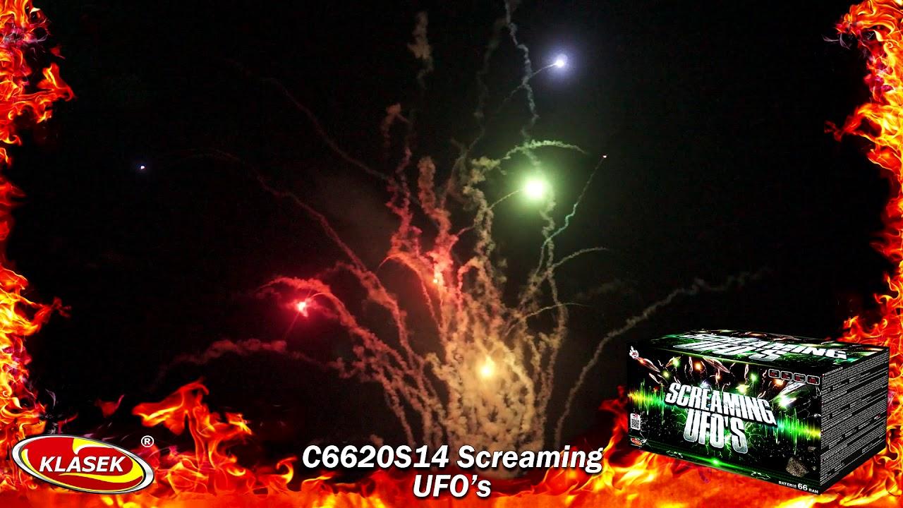 screaming ufos by klasek